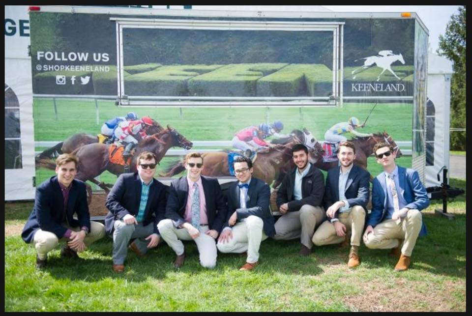 Boys at keeneland