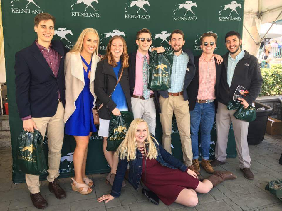 Keeneland scholarship day