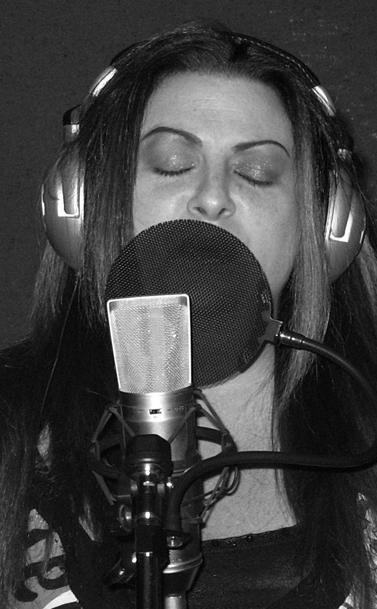 Recording in Studio