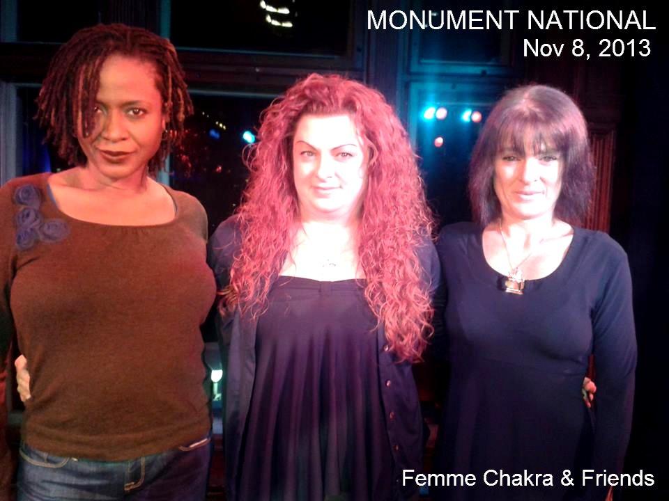 Femme Chakra & Friends