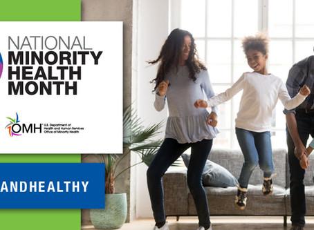 National Minority Health Month 2020