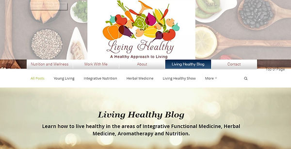 This blog is meant to inform and entertain the general public and other healthcare providers on nutrition and health issues.