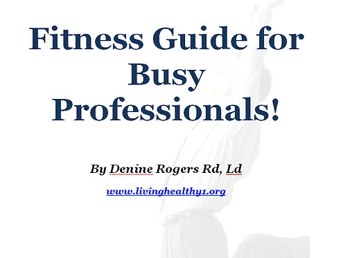 Fitness Guide for Busy Professionals
