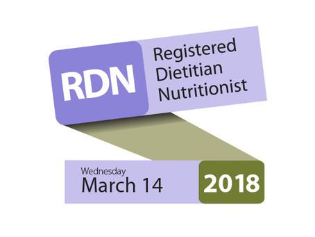 Celebrate Registered Dietitian Day!