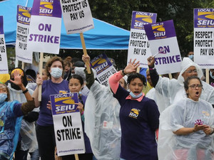 Cook County Workers On Strike