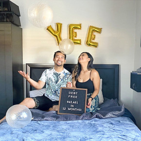 Yay! We're Debt-Free! How We Paid Over $40k in One Year