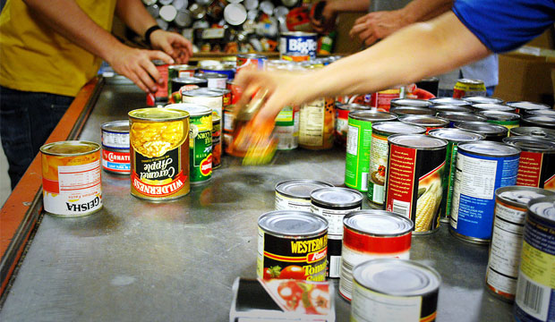 Food Bank open every other Friday's 10:30-12:30