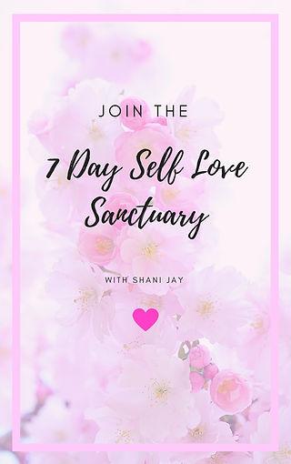 7 day self love sanctuary