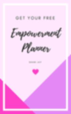 empowerment planer shani jay
