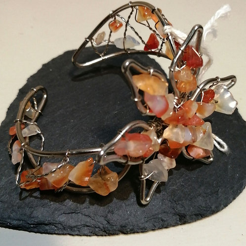 Flower Metal Bracelet