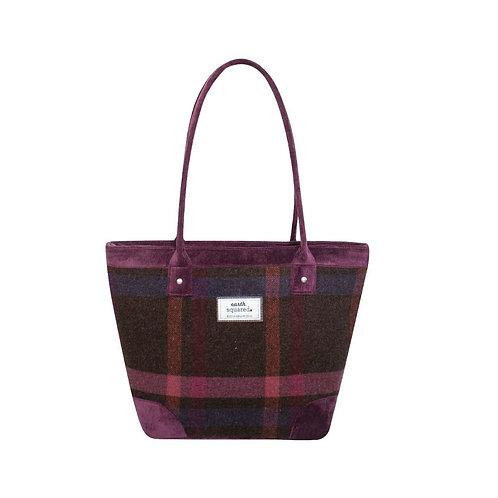 Tweed Tote Bag Mulberry