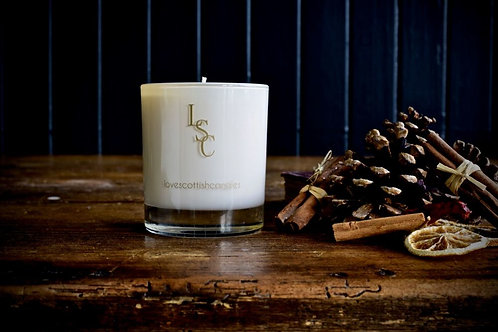Love Scottish Candles Smoked Oak