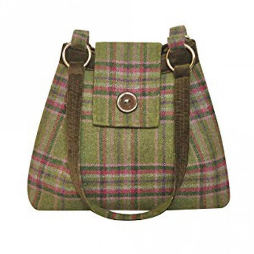 Tweed Ava Bag colour moorland