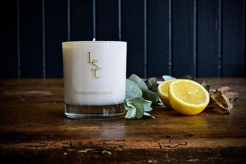 Love Scottish Candles Lemongrass