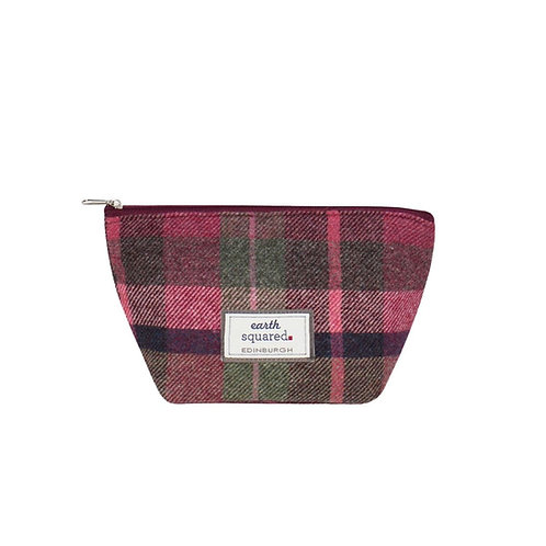 Tweed Make-up Bag colour Hawthorn