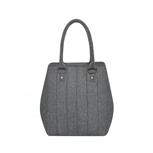 Grey wool bag