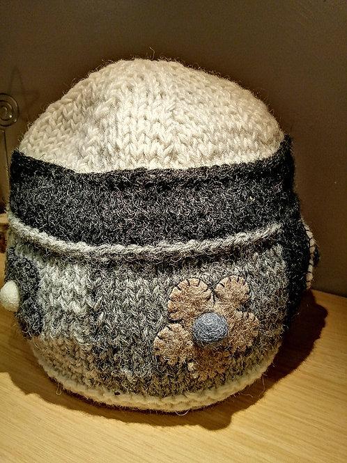 Wool Hat, Handmade in Nepal