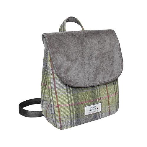 Tweed Backpack Pebble Grey