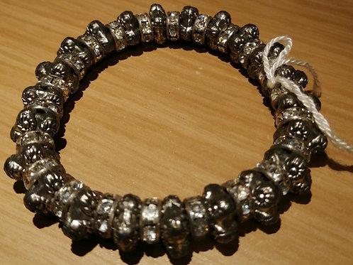 Stretch diamante heavy bracelet
