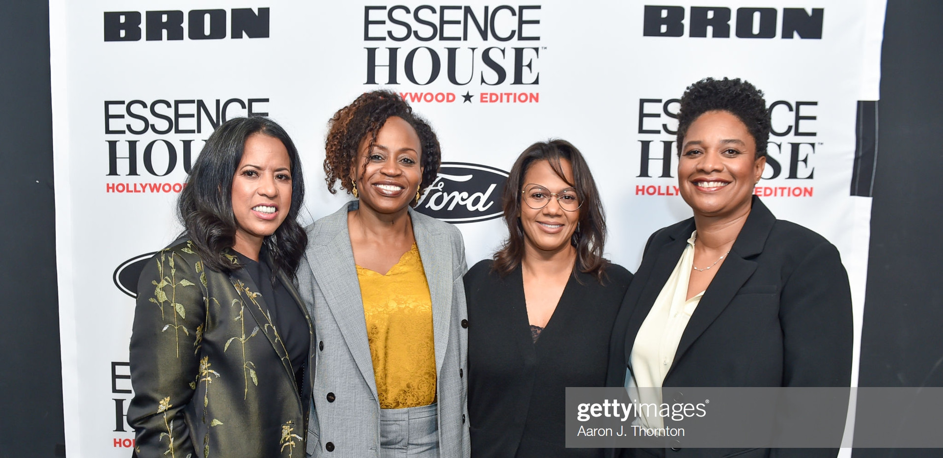 Michelle Ebanks, Pearlena Igbokwe, Tina Perry, and Vanessa Morrison