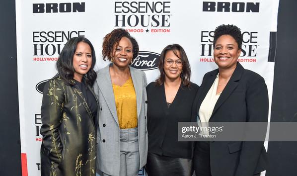 Michelle Ebanks, Pearlena Igbokwe, Tina Perry, and Vanessa Morrison