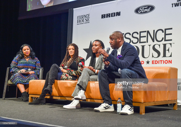 (Left to Right) Rachaell Davis, Kathryn Bosti, Lindsey Lanier and Chaka Zulu