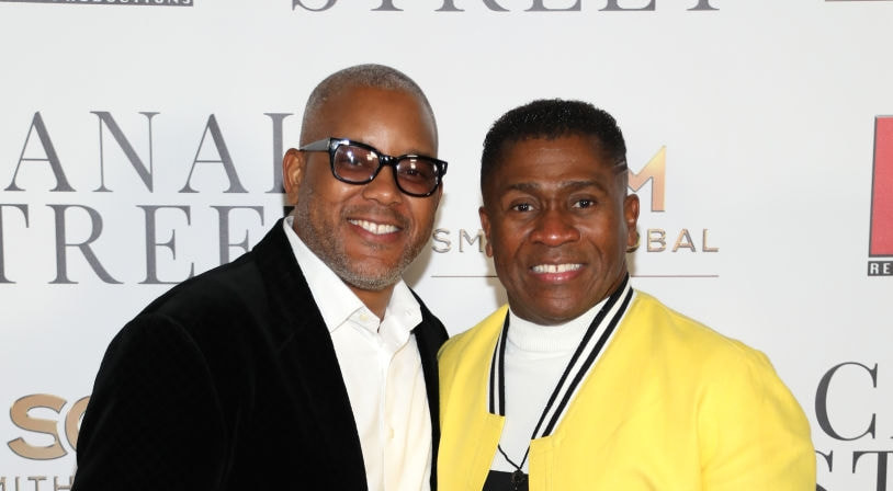 Harry Smith and Bishop Eric D. Garnes