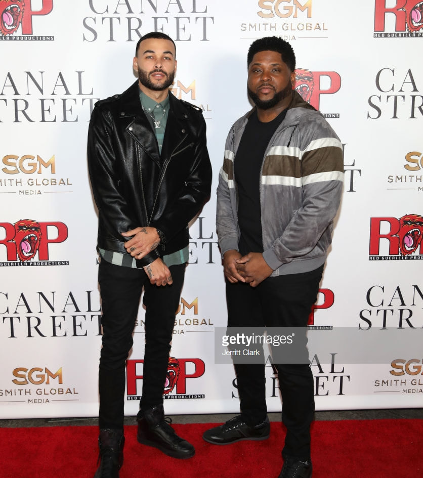 Don Benjamin and Director Rhyan Lamar