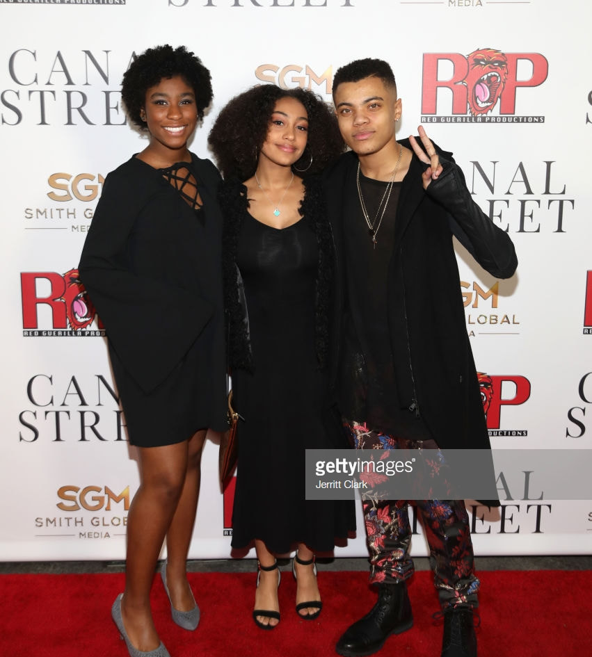 Lyric Ross, Lexi Underwood and Reed Shannon