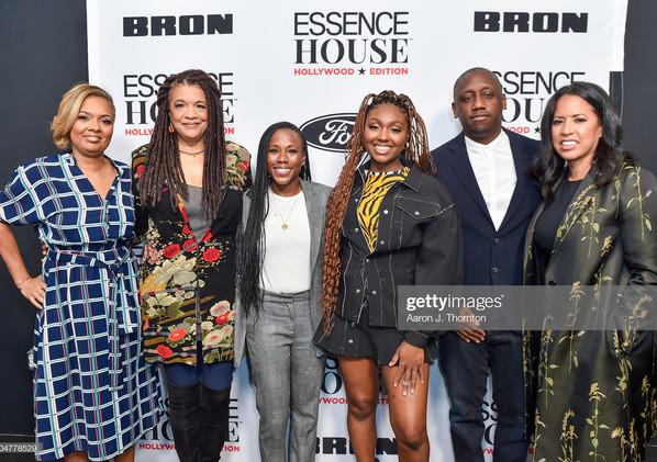 (Left to Right) Cori Murray, Kathryn Bostic, Lindsey Lanier, Tiana Major9, Chaka Zulu and Michelle Ebanks