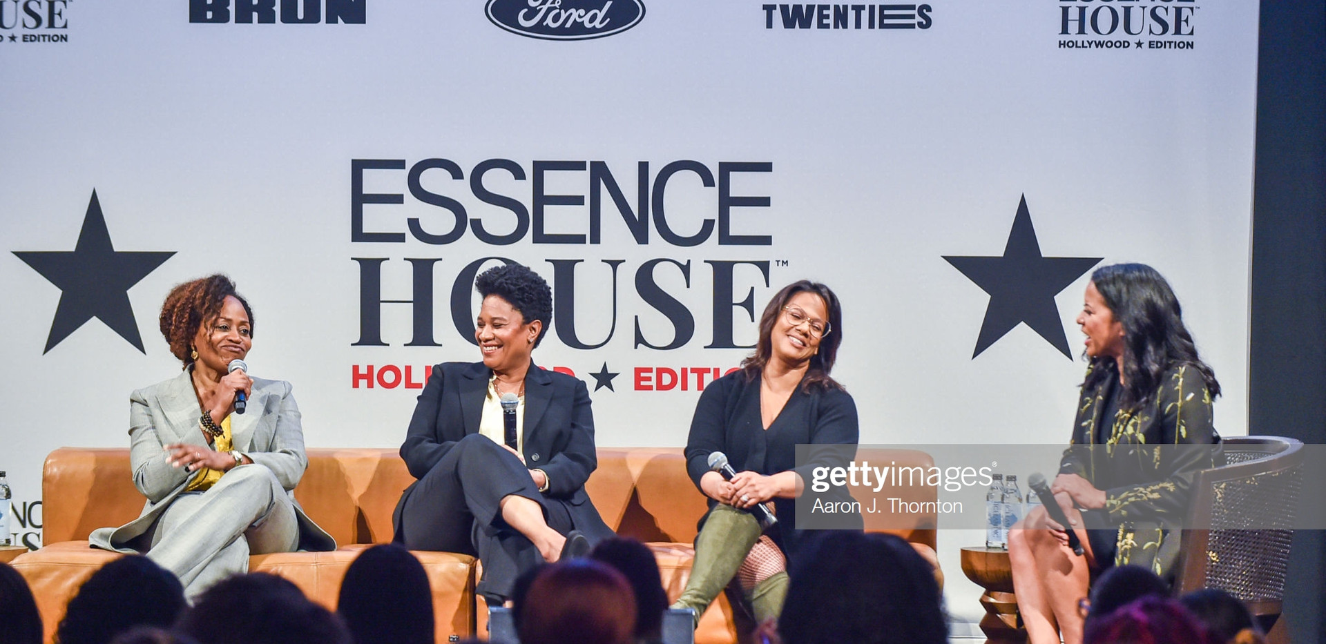 Pearlena Igbokwe, Vanessa Morrison, Tina Perry, and Michelle Ebanks