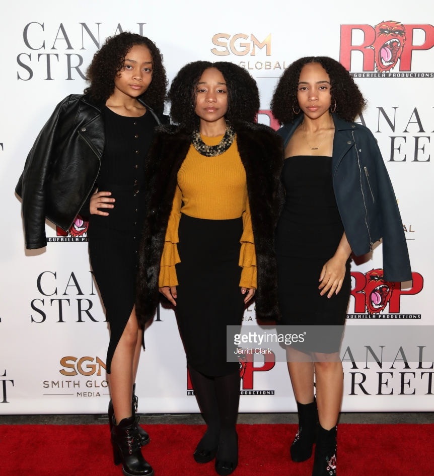 Sa'Nefer Holly, Amsara Holly and Ariana Holly of Holly Girlz