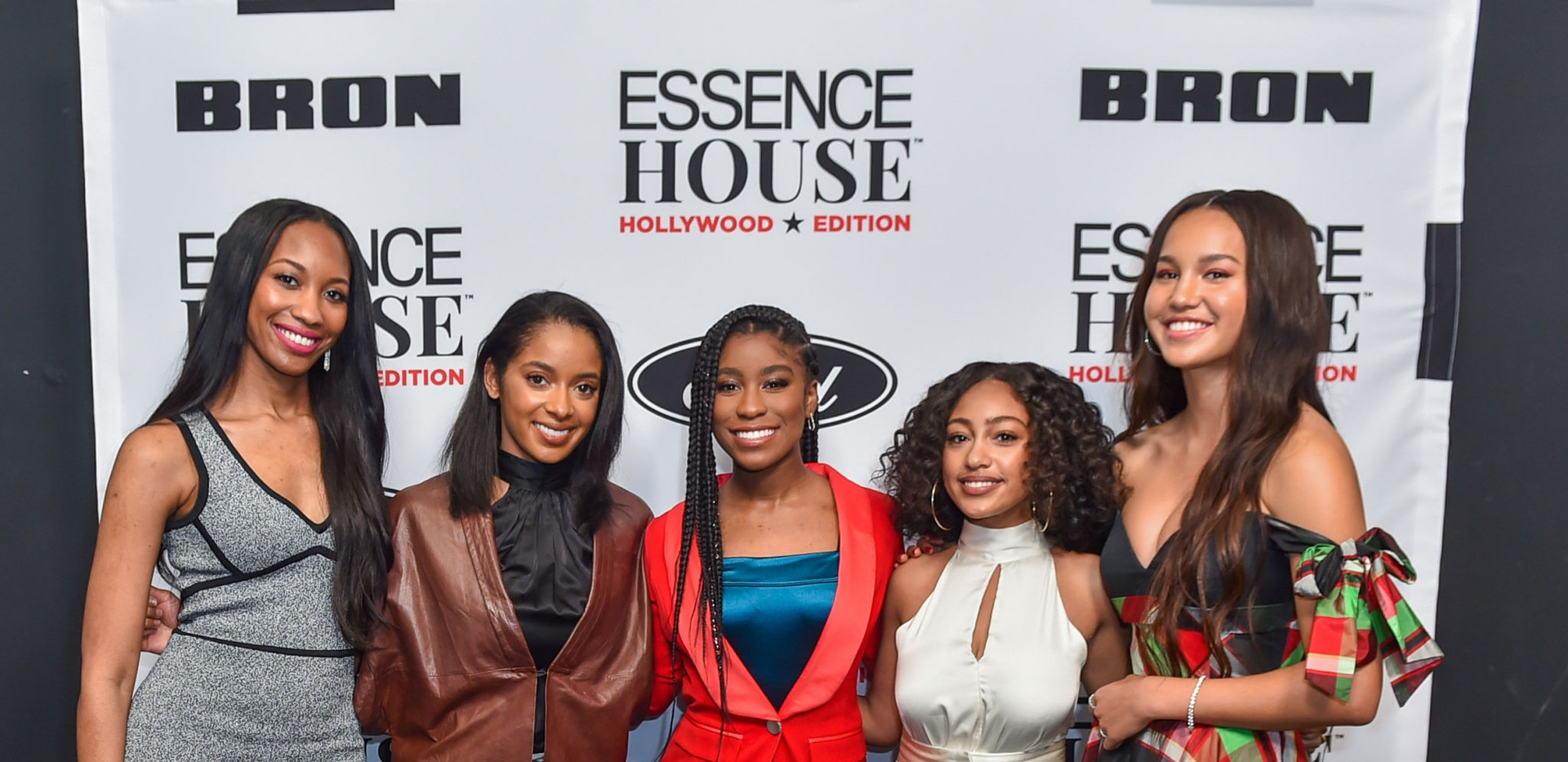(Left to Right) Joi-Marie McKenzie, Rechelle Dennis, Lyric Ross, Lexi Underwood and Sofia Wylie