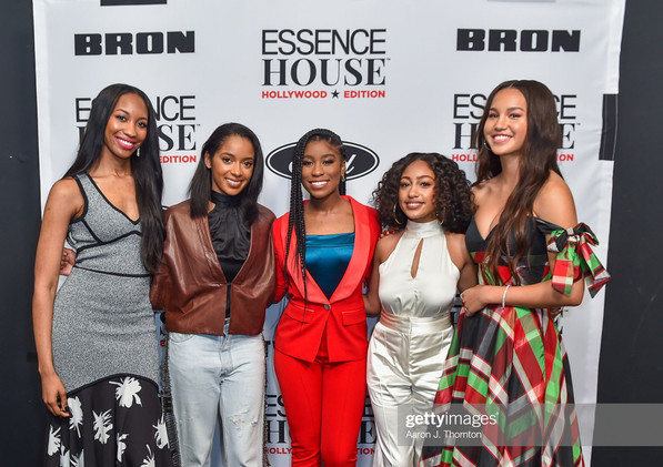 (Left to Right) Joi-Marie McKenzie,Rechelle Dennis, Lyric Ross, Lexi Underwood and Sofia Wylie