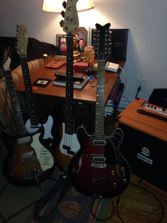 Rick's Guitars and stuff