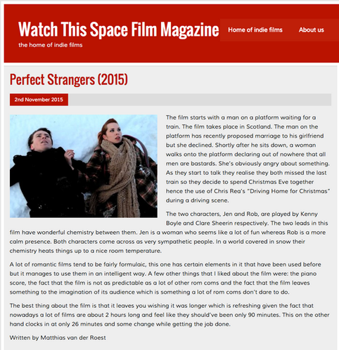 Another review of Perfect Strangers