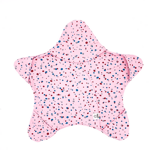 Rosa mit Seifenblasen