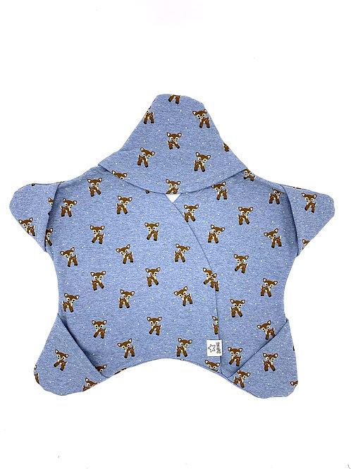 Bleu avec des bambis