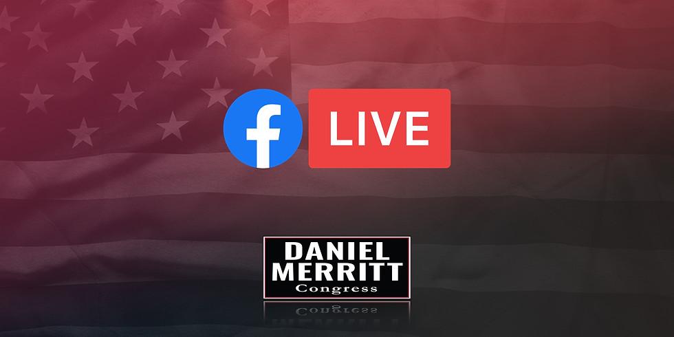 Merritt For Congress Facebook Live Broadcast