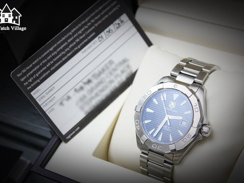 You'll never forget your first - TAG Heuer Aquaracer WAY2110 review