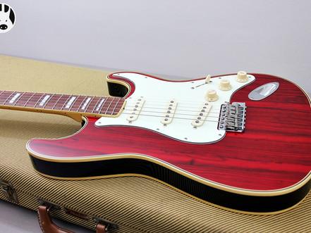 My Review of the FENDER MIJ ST68-HO 1968 Fender Zebrawood Stratocaster.