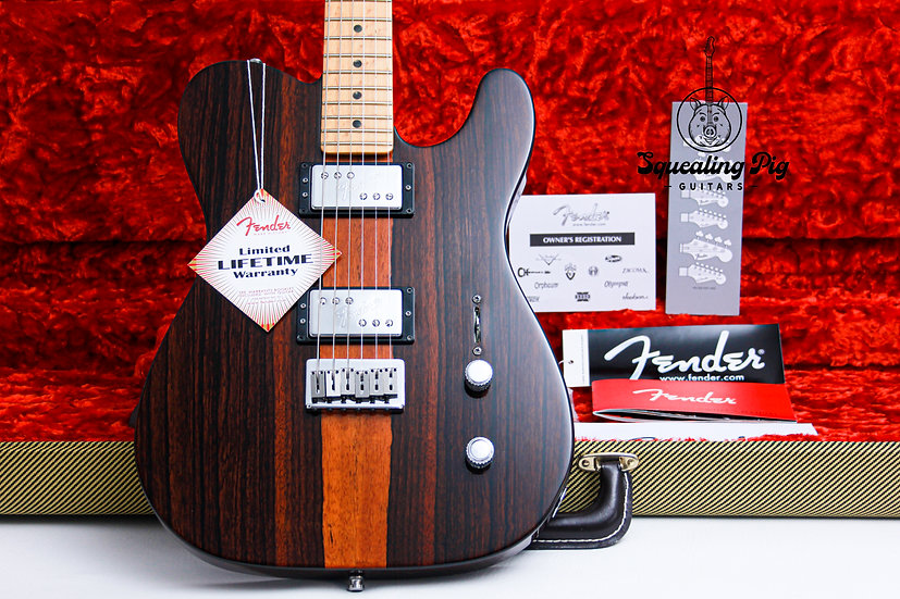 "FENDER USA LTD Select Malaysian Blackwood Telecaster ""Birdseye Maple"" (2013)"
