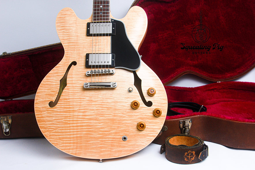 "GIBSON USA *Nashville ES-335 Dot Reissue ""Natural + Rosewood"" (1997)"
