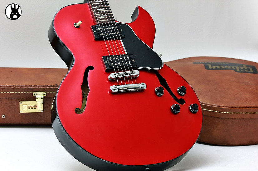 """GIBSON USA Semi Hollow ES-137 Premier """"Candy Apple Red + Rosewood"""" (2002)"""