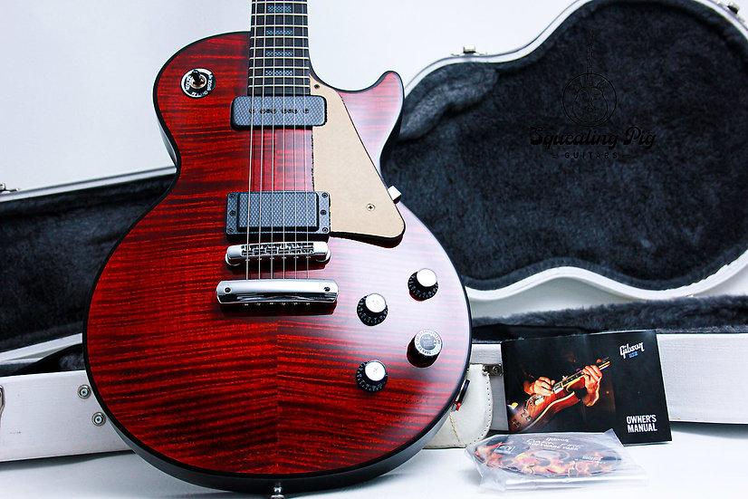 """GIBSON USA Les Paul Standard LTD Dark fire """"Red Tiger + Ebony"""" (2009)"""