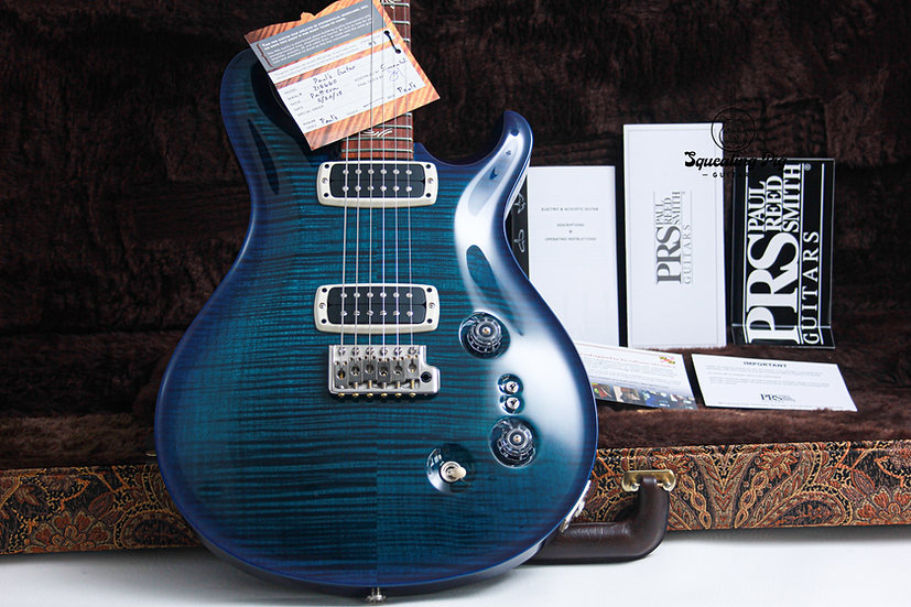 """PRS USA Paul Reed Smith Paul's *Custom Ordered Colour """"Blue-burst + Rosewood"""" (2"""