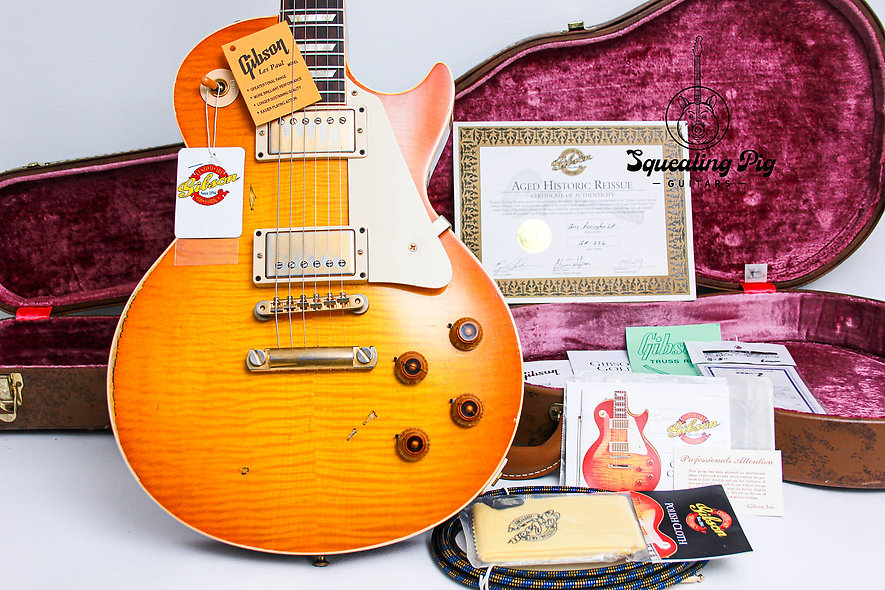 "GIBSON USA Les Paul Custom Shop Collectors Choice Gary Rossington ""Yamano Export"