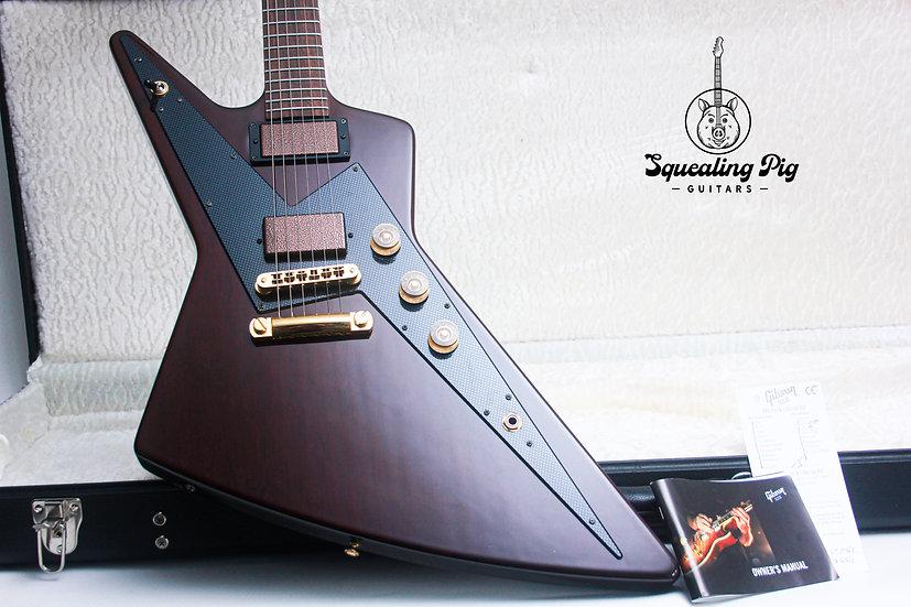 "GIBSON USA Reverse Explorer ""Guitar Of The Week"" #203 ""Walnut + Rosewood"" (2008)"