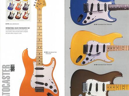 Fender. The international colour series!