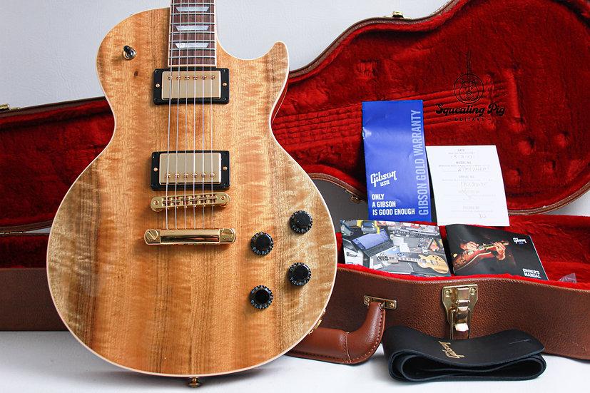 "GIBSON USA Les Paul Premium Plus LTD *Myrtle #69/150 ""Antique Natural + Rosewood"